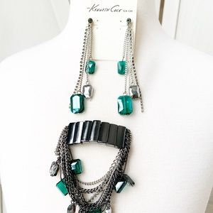 Kenneth Cole Earring and Bracelet Set